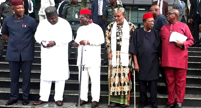 I Will Declare Second Biafra War If... Nnamdi Kanu Warns Nigerian Governors