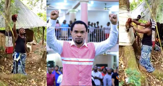 Native Doctor Reveals Prophet Odumeje's Source Of Power, Performs 'Deadly' Ritual On Indaboski (Video)