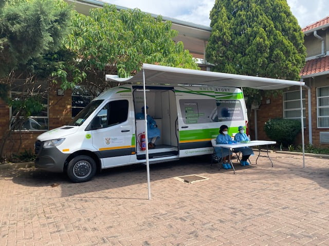 A Covid-19 'Mobile' Testing Laboratory In South Africa