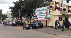 JUST IN: Police Unseal APC National Secretariat After NWC Dissolution