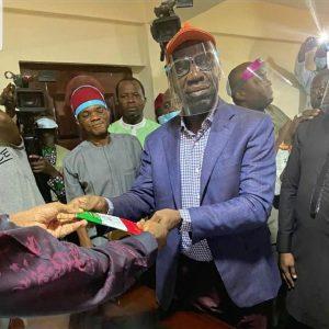 Edo State Governor, Obaseki Finally Joins PDP