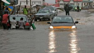 Lagos Flooding 300x169 - FG Lists 28 States That Will Experience Over Flooding This Year