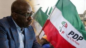 OBASEKI PDP 1 300x169 - EdoDecides: PDP Raises Alarm Over Plot By INEC To Replace Results In Edo North –