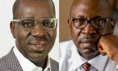 Edo Insecurity: Your House Is In Flames - Ize-Iyamu Fires Obaseki