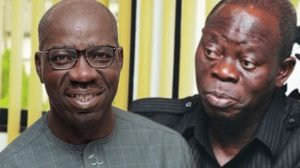Obaseki and Oshiomhole 300x168 - Oshiomhole's Ex-Aide Donates N5m For Obaseki's Re-election Bid