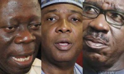 Saraki Welcomes Obaseki To PDP, Mocks Oshiomhole Over Suspension
