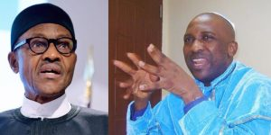Primate Ayodele and Buhari 300x150 - 'Blood Will Flow, Buhari Will Be In Total Confusion' – Primate Ayodele