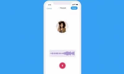 Twitter voice notes