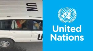 UN shocked by car sex incident