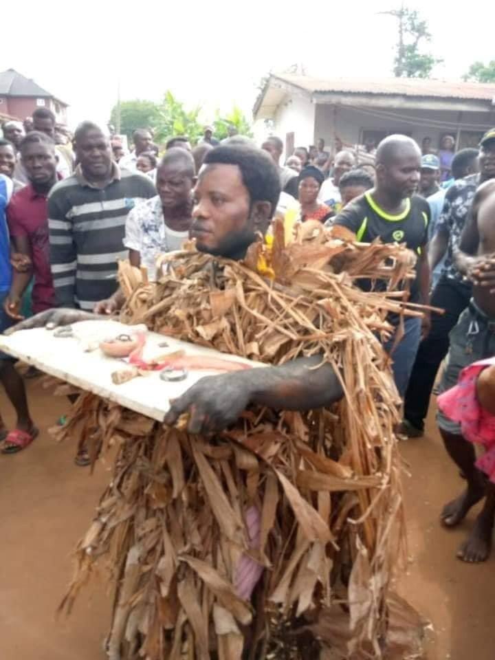 Popular Prophet Caught Burying Charms, Disgraced (Photos)