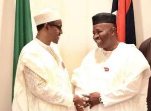 NDDC: Godswill Akpabio In 'Fresh Trouble' As Lawyer Writes Buhari