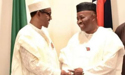 NDDC: Godswill Akpabio In 'Fresh Trouble' As Lawyer Writes Buhari