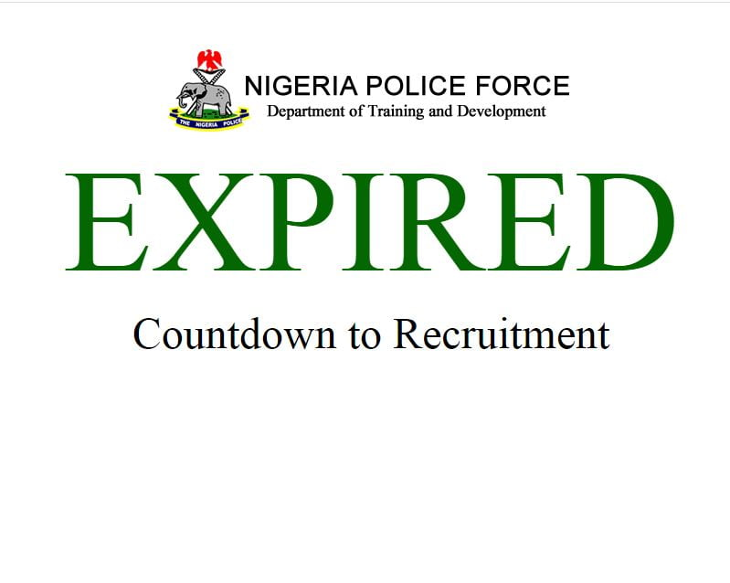 Nigeria Police Recruitment 2020 Commences, Apply Here