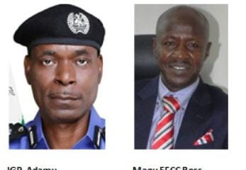 Finally, Nigeria Police States Position On Magu's Suspension As EFCC Chairman