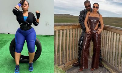 Kim vs Kanye West: Nollywood Actress Moyo Lawal To Become Baby Mama If...