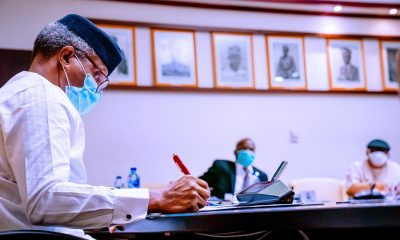 Just In: Osinbajo Writes IGP On 'Receiving N4billion' From Magu, Makes Demand