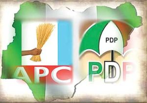 PDP APC logo 300x211 - Ohanaeze: Three Igbo Governors To Dump PDP For APC IF…