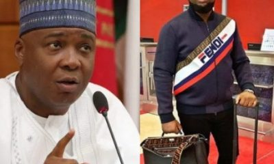 Saraki Bombs APC For Linking Him To Hushpuppi