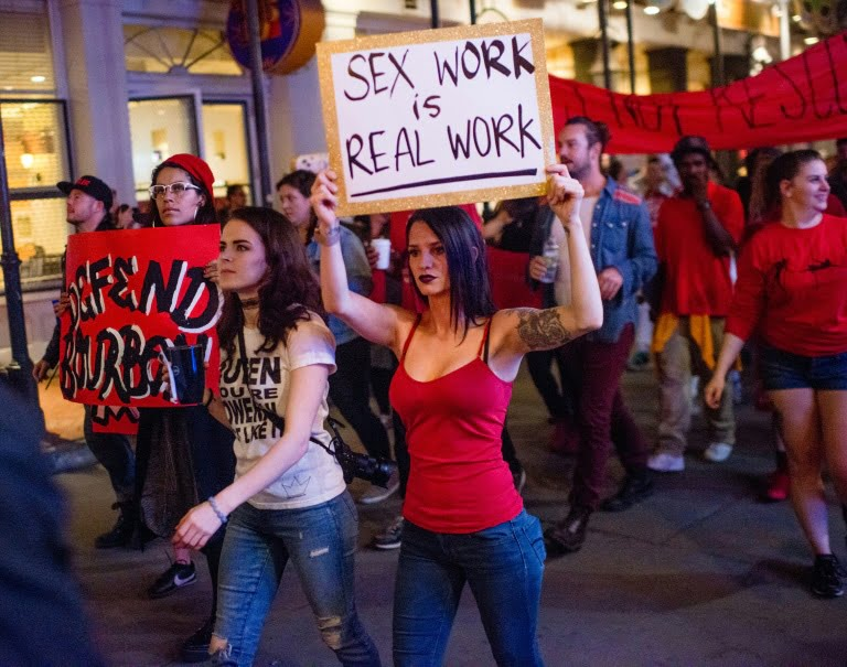 Sex Workers Take To The Streets, Demand Reopening Of Brothels