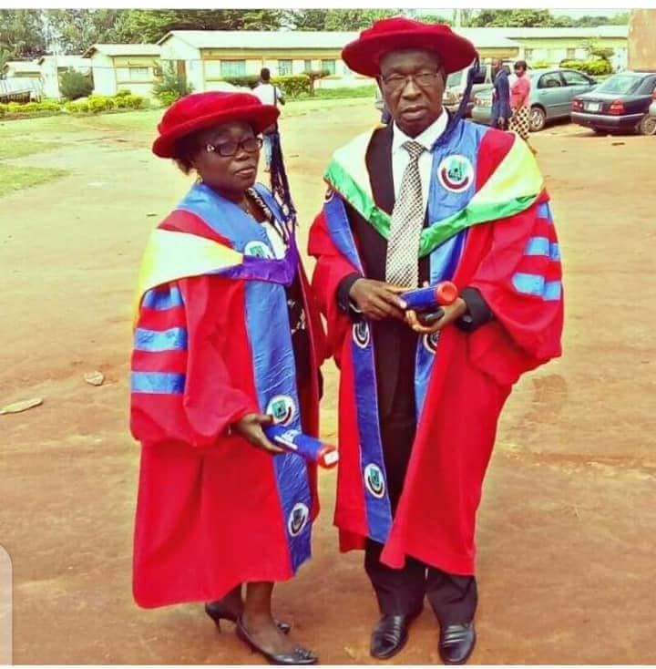 Dr Stella Okotie and Her Husband