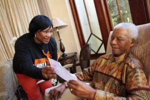 Zindzi and Nelson Mandela 300x200 - Zindzi Mandela Tested Positive For COVID-19 Before Her Death – Son
