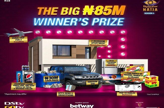 BBNaija 2020 Winner To Go Home With N85 Million As Grand Prize