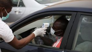 113856743 gettyimages 1208646813 594x594 1 300x169 - Coronavirus In Nigeria: 407 Infected Persons Were Cured On Saturday