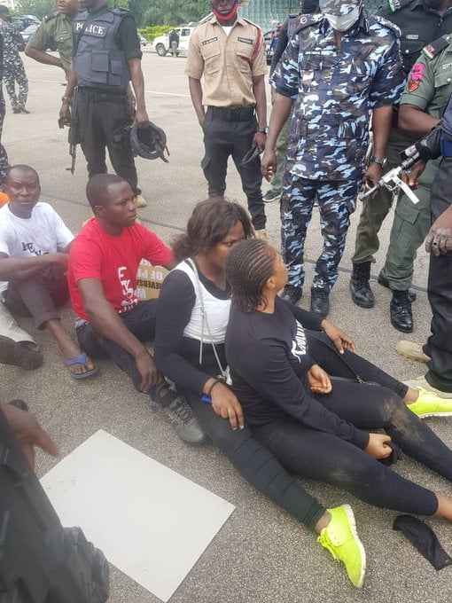 57db7f83 c05a 491a b6c7 716ca95ef179 - #RevolutionNow: Amnesty Int'l, Yesufu, Sowore Condemns Clampdown on Protesters (Photos)