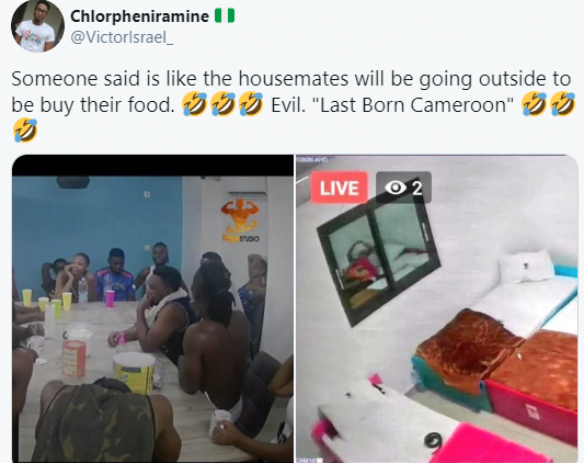 5f2bac9874743 - Photos: Nigerians Mock Cameroonians As Photos Of Their Own BigBrother Show Emerges