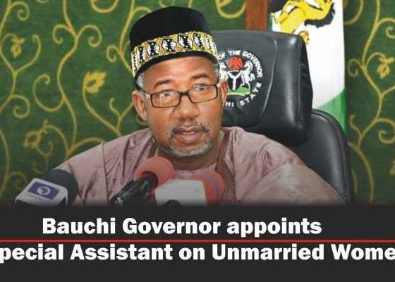 Bauchi Governor Appoints SA On 'Unmarried' Women Affairs