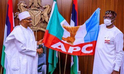 What Ize-Iyamu Said After Buhari Endorsed Him For Edo 2020