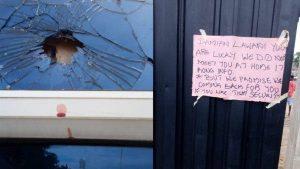 Damian Lawani house attacked 300x169 - Edo 2020: Gunmen Storm Obaseki Commissioner's Home, Leave Death Note
