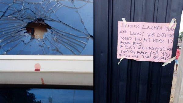 Edo 2020: Gunmen Storm Obaseki Commissioner's Home, Leave Death Note