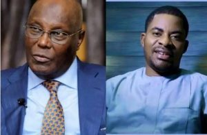 Dejiand Atiku 300x197 - Deji Adeyanju Drags Atiku Over Silence On Death Sentence Against Kano Musician