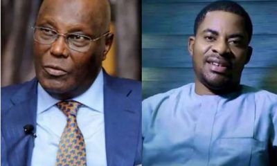 Deji Adeyanju Drags Atiku Over Silence On Death Sentence Against Kano Musician