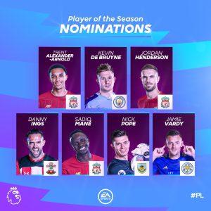 Eez2ZDiXoAERgo4 300x300 - Football Fans React As Arsenal's Saka, Aubameyang Miss Out On Premier League Award Nominations
