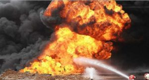Explosion 300x162 - Two Injured As Gas Explosion Rocks Kano