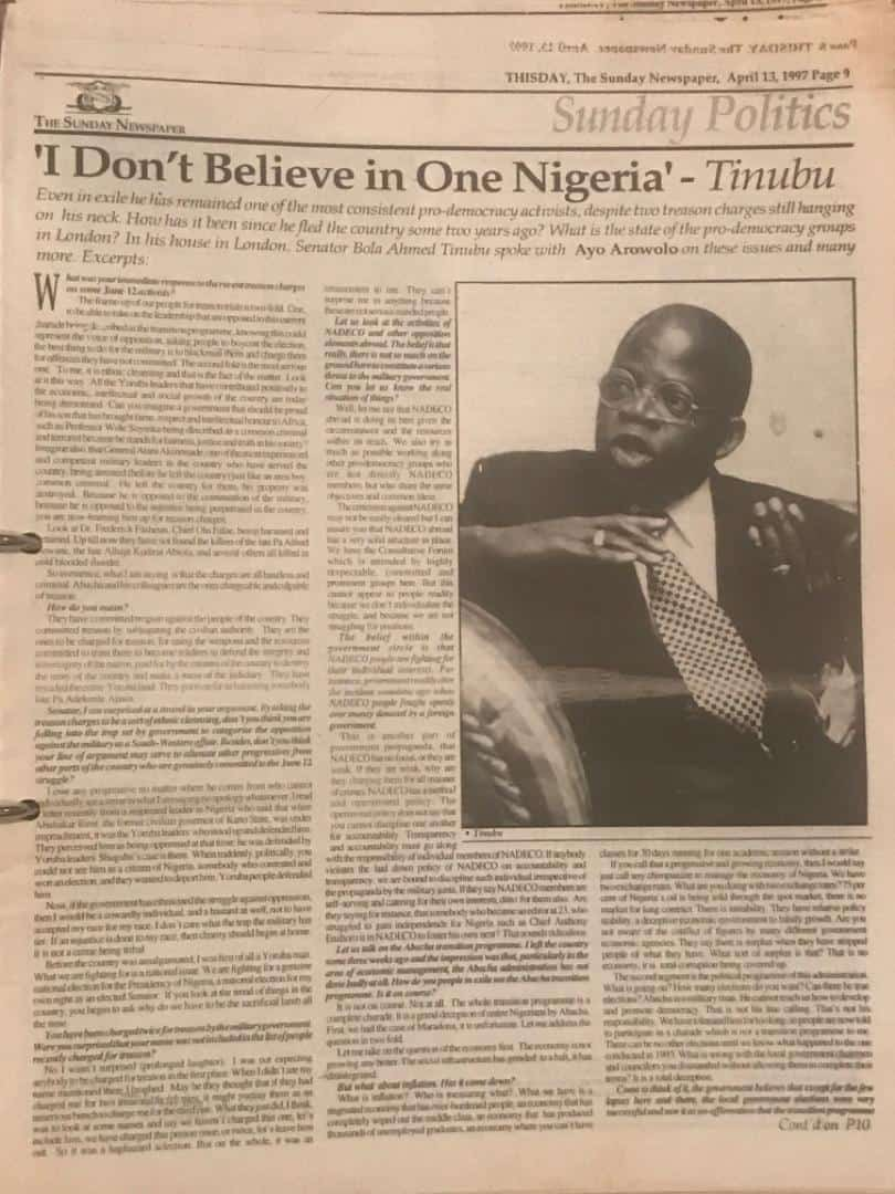 IMG 20200826 193431 - 2023: Tinubu Under Attack Over 'I Don't Believe In One Nigeria' Statement