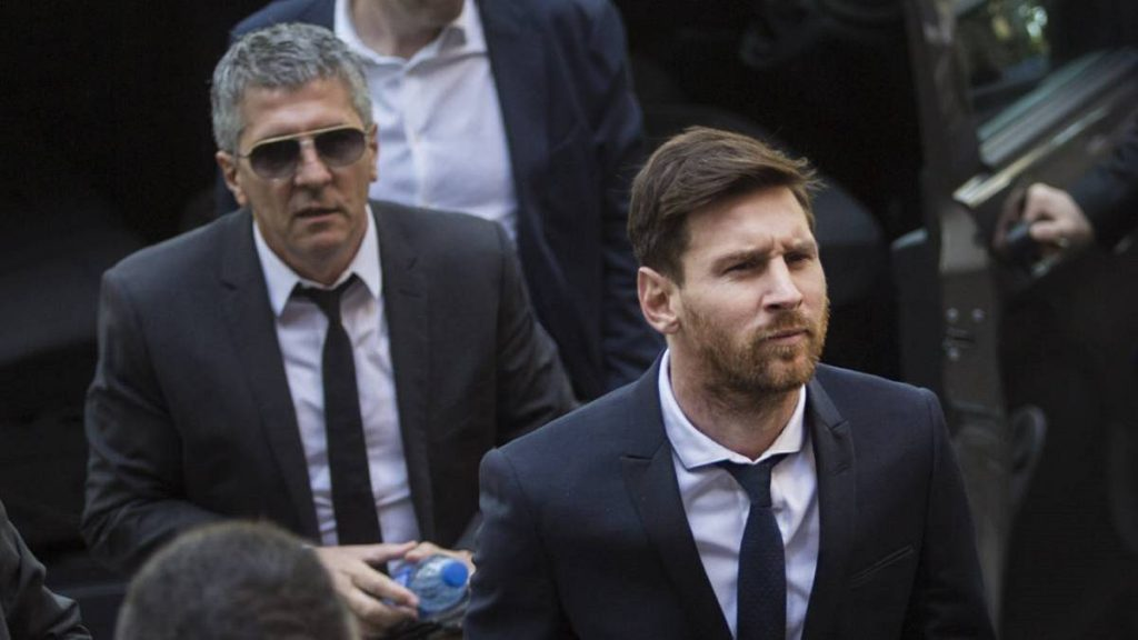 Barcelona Star Messi Survives Bomb Scare
