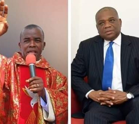 Father Mbaka Speaks On Orji Uzor Kalu Succeeding Buhari In 2023