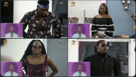 BBNaija: Neo, Trikytee, Wathoni And Kaisha Nominated For Eviction