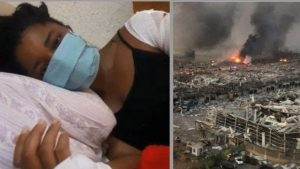 Nkechi Obasi 1 300x169 - Nigerian Woman Who Survived Lebanon Explosion Narrates Ordeal
