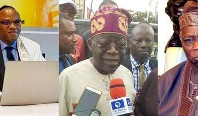 Biafra: Nnamdi Kanu Bombs Obasanjo, Tinubu Over Buhari's Govt
