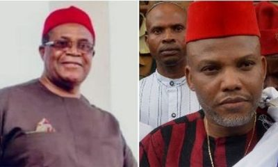 Biafra: Nwodo Reveals What Nnamdi Kanu Has Done For Igbos