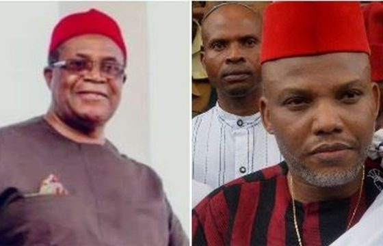 Biafra: Nwodo Reveals What Nnamdi Kanu Has Done For Igbos