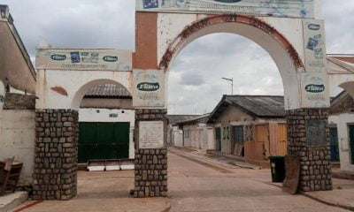 One of the entrances to Sheikh Abubakar Gummi Market in Kaduna