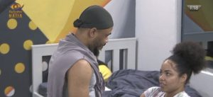 Ozo and Nengi 300x137 - BBNaija 2020: Nengi Discovers Something Ridiculous On Ozo's Bed