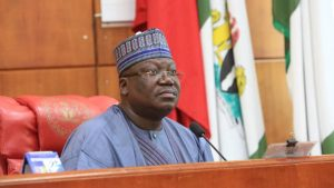 President of the Senate Senator Ahmad Lawan 300x169 - Buhari Ended SARS, Not IGP – Lawan