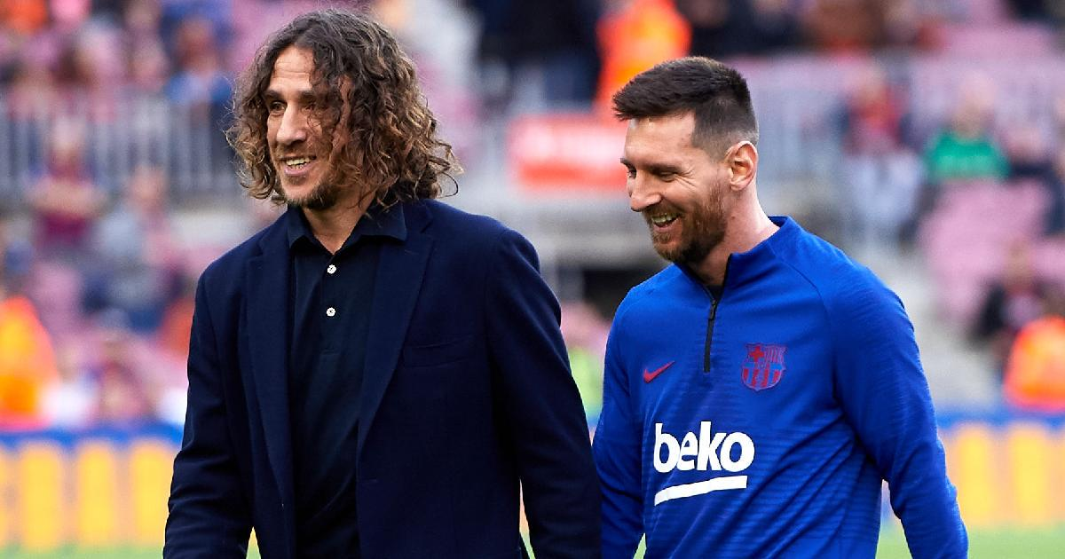 Puyol Supports Messi's Decision To Leave Barcelona