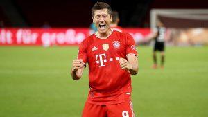 Robert Lewandowski 300x169 - Champions League: Can Lewandowski Break Ronaldo's History?